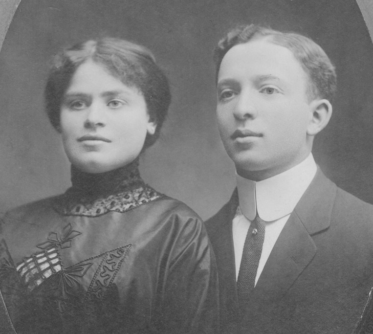 Rebecca & Abraham Thorner probably 1912