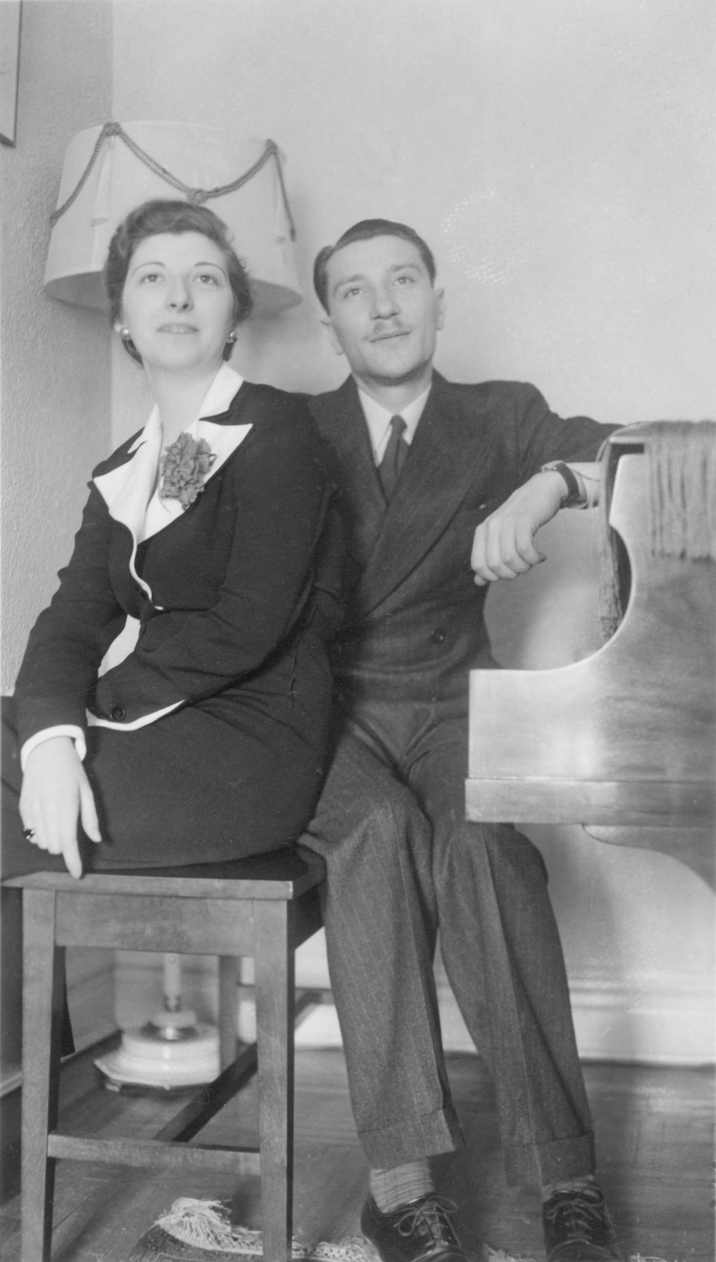 1936 Molly and Allen Russek