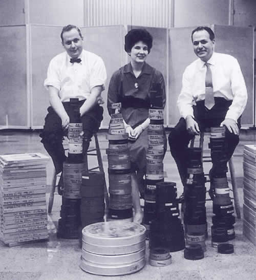 Mercury C. Robert Fine, Wilma Cozart and Harold Lawrence